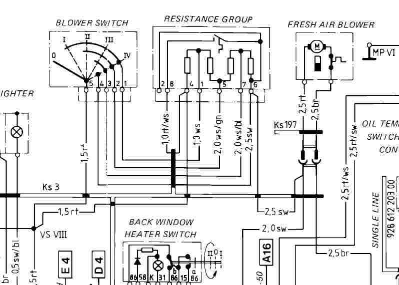 928 tech tips, Wiring diagram