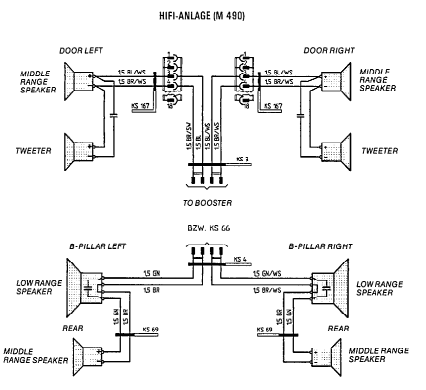 Speaker wiring 8 speaker setup 928 tech tips Range Plug Wiring Diagram at crackthecode.co